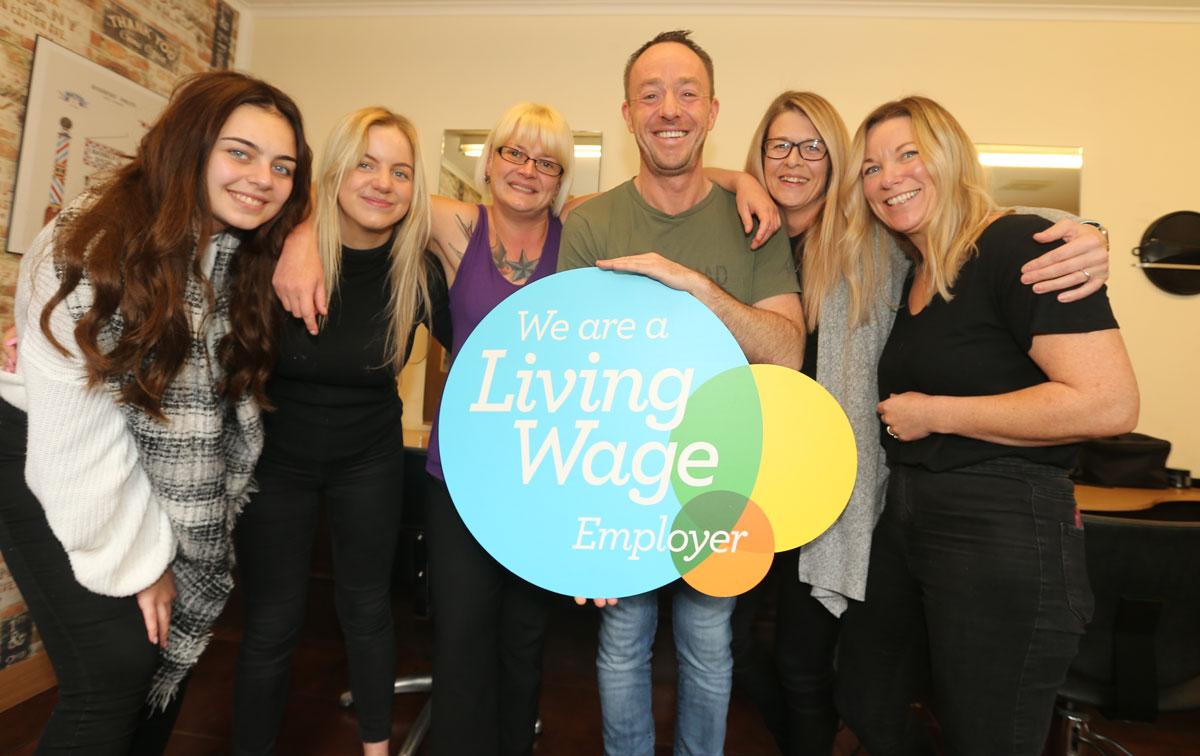 Glenwood Salon - A Living Wage Employer